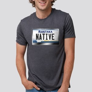 Montana License Plate - [NATIVE] T-Shirt